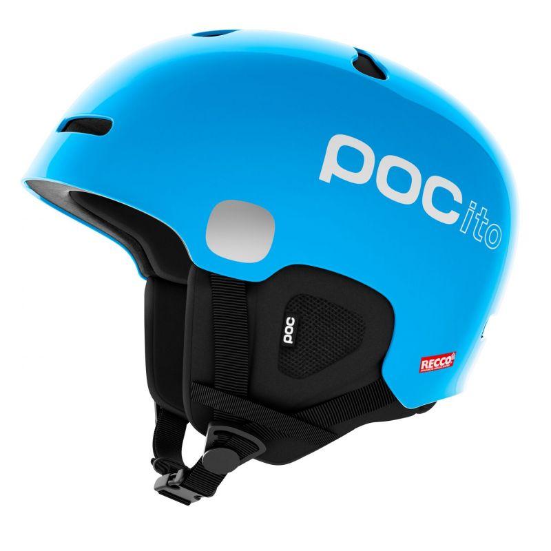 POC POCito AURIC CUT SPIN dětská lyžařská helma fluorescent blue 18/19