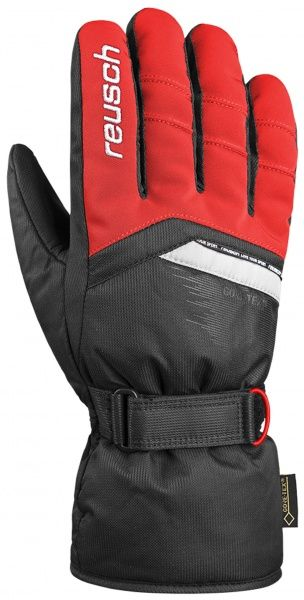 REUSCH BOLT GTX® prstové rukavice fire red/black 18/19
