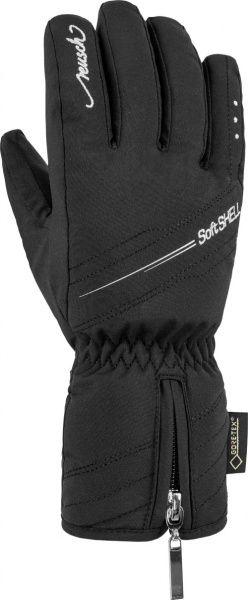 REUSCH SELINA GTX® dámské prstové rukavice black/silver 18/19