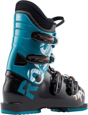 ROSSIGNOL TMX J4 dětské sjezdové boty black/petrol blue 18/19